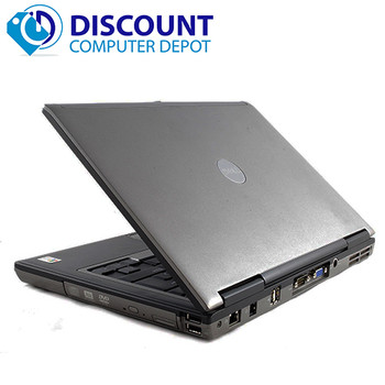 Dell Latitude D Series Laptop Computer Dual Core 4GB 80GB Windows 10 Home