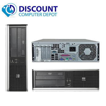 Fast HP 7900 Core 2 Duo Desktop Computer 4GB 80GB DVD-RW Win10-64 Home