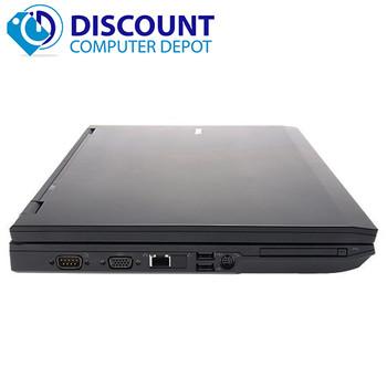 """Dell Latitude E5500/E6500 15.4"""" Windows 10 Laptop Notebook PC Core 2 Duo 4GB Ram 250GB Wifi"""