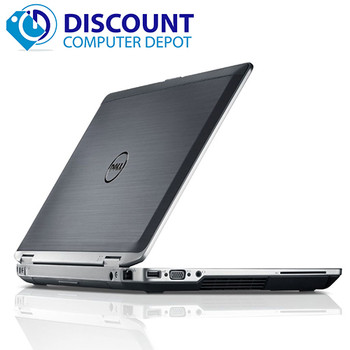 """Dell Latitude 14"""" Windows 10 Laptop PC i5 2.5GHz (2nd Generation) with Wifi"""
