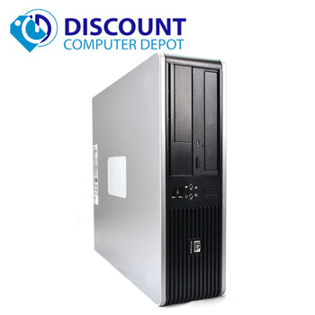 Fast HP Desktop Computer Windows 10 Dual Core 4GB 250GB DVD-RW