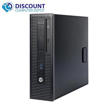 HP ProDesk G1 Desktop Computer Core i5 (4th Gen) 3.2GHz 8GB 500GB Windows 10 Pro
