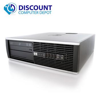 Fast HP Elite Pro Desktop Computer PC Intel Core i3 4GB 250GB Windows 10 Home WiFi