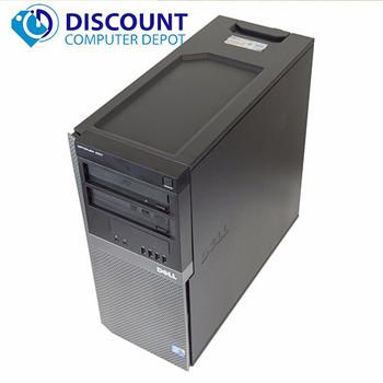 Dell 960 Windows 10 Computer Tower Core 2 Duo 4GB RAM 250GB Wifi