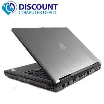 Dell Latitude D Series Laptop Dual Core 4GB 80GB Windows 10 Home