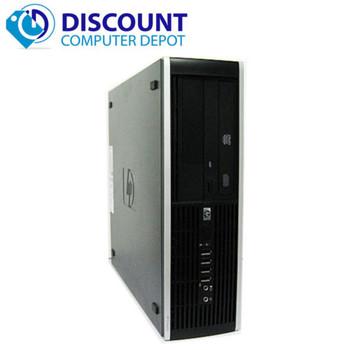 HP 6000 Desktop Computer Core 2 Duo 2.66GHz 8GB 160GB Windows 10 Pro Dual Monitor Ready