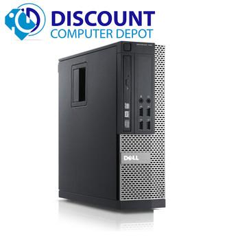 """Dell Optiplex 990 Desktop Computer i5 3.3GHz 8GB 1TB WiFi Win 10 Pro w/Dual 22"""" LCDs"""