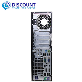 HP ProDesk G1 Desktop Computer Core i5 (4th Gen) 3.2GHz 8GB 128GB SSD Windows 10 Pro