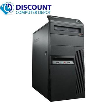 Fast Lenovo M92P Windows 10 Desktop Computer Core i5 Tower 3.2GHz PC 8GB 500GB WIFI