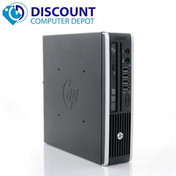 HP Compaq 8300 Ultra-Slim Desktop Small Computer i5 8GB 128GB Windows 10 Pro