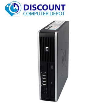 "HP 8300 Windows 10 Slim Desktop PC Quad i5-3470s 2.5GHz 8GB 250GB w/22""LCD"