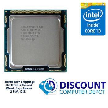Intel Core i3-530 2.93Ghz Dual-Core CPU Computer Processor LGA 1156 Socket SLBLR