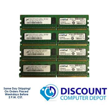 Micron 4GB 1GBx4 PC2-5300E MT9HF12872AY-667E1 NON-REG ECC Memory RAM 667 CL5
