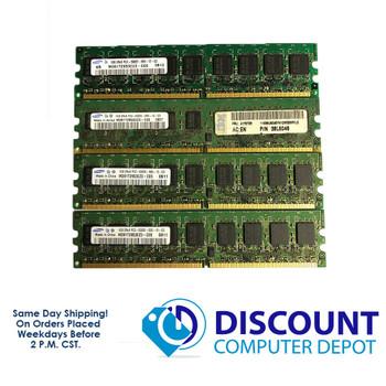 Samsung 4GB 1GBx4 PC2-5300E M391T2953CZ3-CE6 NON-REG ECC Memory RAM DDR2