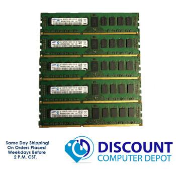 20GB Samsung 4GBx5 2Rx8 PC3L-10600R M393B5273CH0-YH9 Server Memory RAM ECC Reg