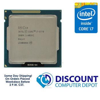 Intel Core i7-3770 3.40GHz Quad-Core CPU Computer Processor LGA1155 Socket SR0PK