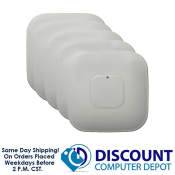 Lot of 10 Cisco AIR-CAP3502I-A-K9 Aironet 3502I Wireless Access Points 802.11n