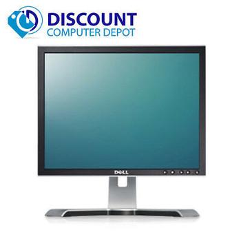 """LOT of 5 -- Dell UltraSharp 17"""" Monitor Desktop Computer PC LCD (Grade B)"""