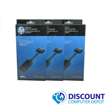 NEW Lot of 3 HP H3N49AA ElitePad Ethernet Connection Cable Adapter USB 3.0
