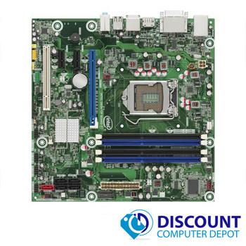 Intel Motherboard DQ57TM E70931-303 w/ CPU Fan & I/O Shield DDR3 SDRAM