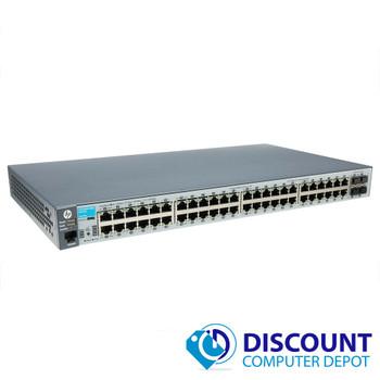 HP ProCurve 2530-48G J977A 48 Port Gigabit Ethernet Network Switch 10/100/1000