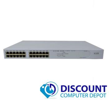 3Com SuperStack 3 4400 3C17203 24 Port Fast Ethernet Network Switch 10/100