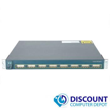 Cisco Catalyst 3500 Series XL WS-C3508G-XL-EN 8 Port GBIC 1000BASE-X Switch