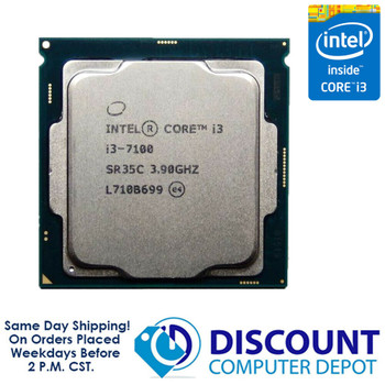 Intel Core i3-7100 3.90GHz Dual-Core CPU Computer Processor LGA1151 Socket SR35C