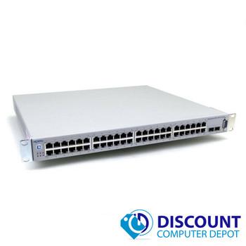 Nortel BayStack 5520-48T-PWR 48 Port Gigabit Ethernet Network Switch 4x SFP