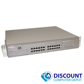 Nortel BayStack 450-24T 24 Port Managed Fast Ethernet Network Switch 10/100