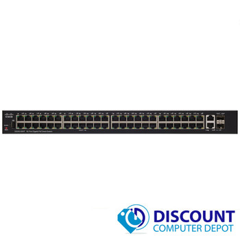 Cisco Small Business SG250-50-K9 50 Port Managed Gigabit Smart Ethernet Switch