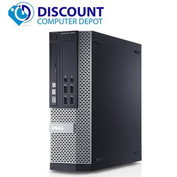 Dell Optiplex Windows 10 Pro Desktop Computer PC Core i5 4th Gen 3.2GHz 8GB 128GB SSD and WIFI (