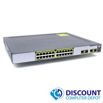 Cisco Catalyst Express 500 WS-CE500-24TT 24 Port Fast Ethernet 2x GbE SFP