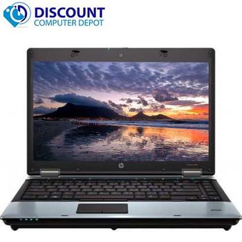 "Hp ProBook 6450b 14"" Windows 10 Home Laptop Computer Core i3 PC 4GB 250GB and WIFI"