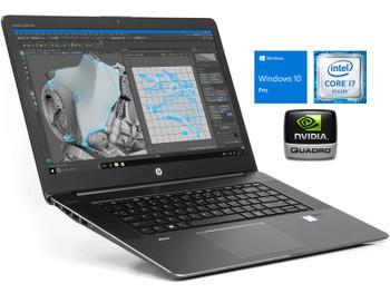 "HP Zbook 15 G3 i7 6820HQ 2.7GHz 15.6"" 16GB 256GB SSD Win 10 Pro NVIDIA M1000M"
