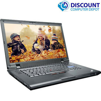 "Lenovo Laptop Computer ThinkPad SL510 Windows 10 PC 15.6"" Dual Core CPU 4GB 250GB DVD"
