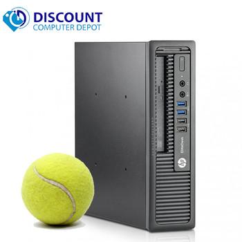 "HP EliteDesk 800 G1 USFF i5 2.9GHz 8GB RAM 512GB SSD Windows 10 Pro w/ 19"" Monitor"