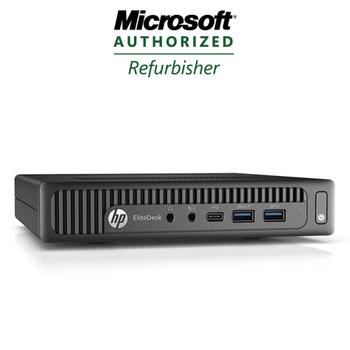 HP EliteDesk 800 G2 Mini Quad-Core i5-6500 6th Gen 3.2GHz 8GB 256GB SSD Windows 10 Pro