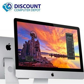 """Apple iMac 21.5"""" Desktop Core i5-4260U 1.4GHz 8GB RAM 500GB HDD Mac OS Mid-2014 w/ Keyboard & Mouse"""