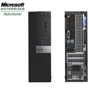 Dell Optiplex 5040 SFF Computer Core i5-6500 3.2GHz 8GB 256GB SSD DVD Windows 10 Pro