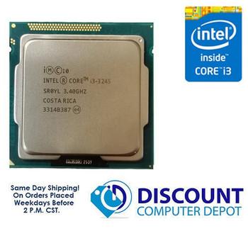 Intel Core i3-3245 3.40GHz Dual-Core CPU Computer Processor LGA1155 Socket SR0YL