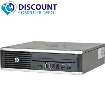 HP Compaq 8300 Ultra-Slim Desktop Small Computer i3 4GB 320GB Windows 10 Home DVD WiFi Bluetooth