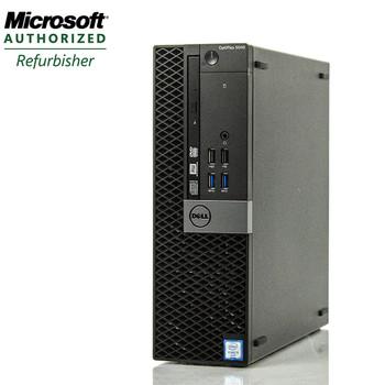 Dell Optiplex 7040 SFF Computer Core i5-6500 3.2GHz 8GB 256GB SSD DVD Windows 10 Pro