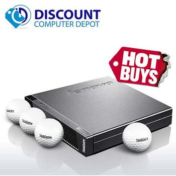 Lenovo Thinkcentre M92P Micro Desktop | Intel i5 (3rd Gen) 2.9GHz | 4GB RAM | 500GB HDD | Windows 10 Pro | WIFI | Power Adapter