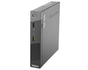 Lenovo Thinkcentre M92P Micro Desktop Quad-Core | Intel i5 (3rd Gen) 2.9GHz | 4GB RAM | 500GB HDD | Windows 10 Pro | WIFI | Power Adapter