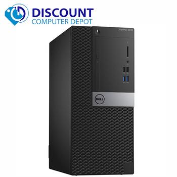 Dell Optiplex 3040 Desktop Computer Tower i3 3.7GHz 4GB 1TB Windows 10 pro