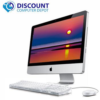 """Apple iMac 21.5"""" All-in-One Desktop Computer i5-2500s 2.7GHz 8GB Ram 1TB Mac OS High Sierra MC812LL/A w/ Keyboard & Mouse"""