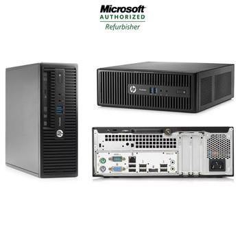HP ProDesk 400 G2 Desktop Computer Core i5 (4th Gen) 3.0GHz 8GB 256GB SSD Windows 10 Pro and WIFI