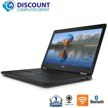 """Dell Latitude Laptop Computer E5550 15.6"""" Core i5 2.4GHz 5th Gen 8GB Ram 256GB SSD Wifi Windows 10 Pro PC"""
