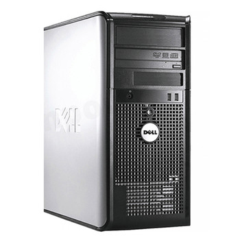 """Dell OptiPlex Core 2 Duo Tower 4GB RAM 250GB HDD WIFI Keyboard and Mouse Dual 22"""" LCD Monitors Windows 10 Home Premium"""